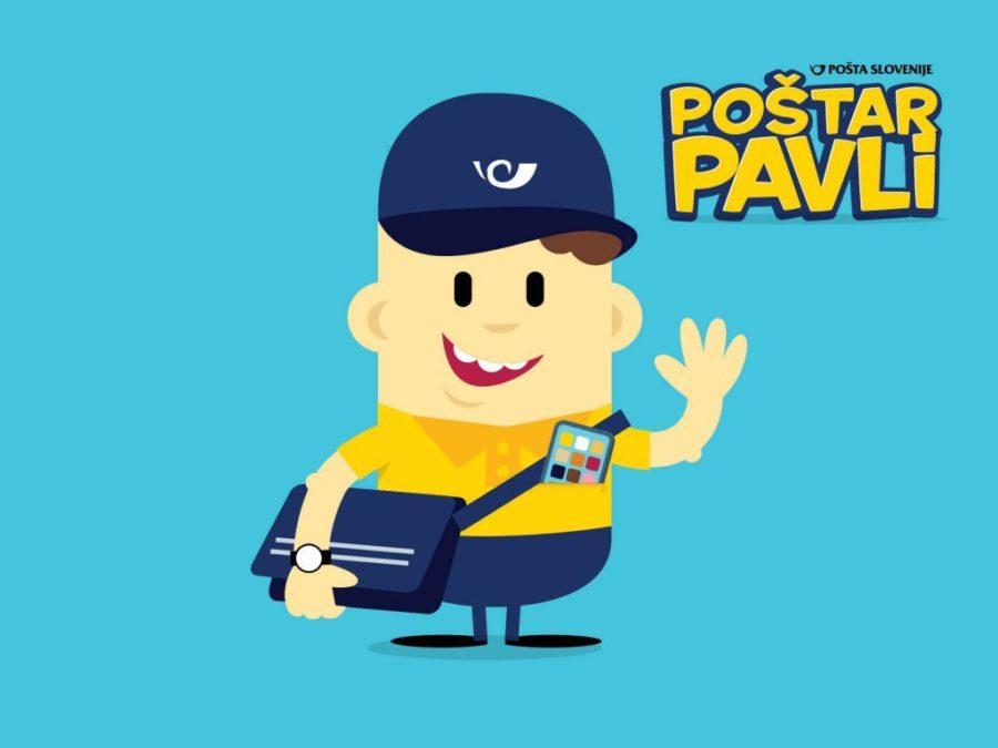 Poštar Pavli Pošta Slovenije
