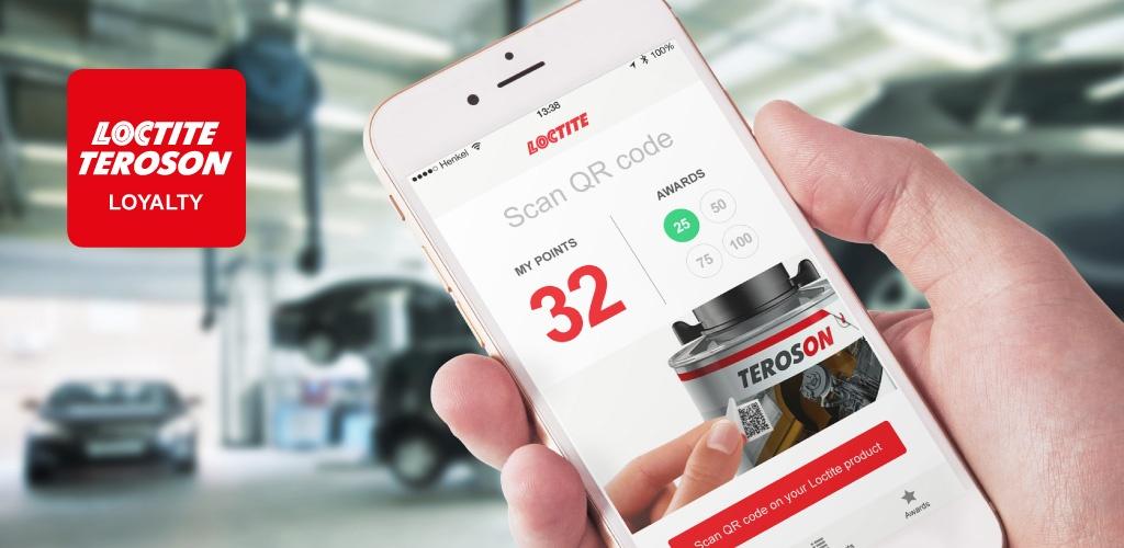 Mobilni program zvestobe – Loctite Loyalty App za Henkel CEE, Dunaj